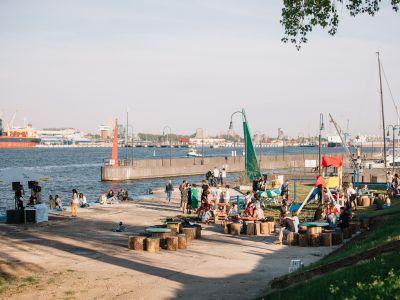 StreetArt Smiltynės Jachtklube