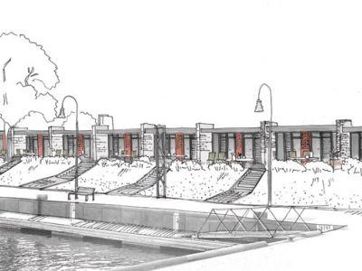 Naujas Smiltynės Jachtklubo viešbutis.
